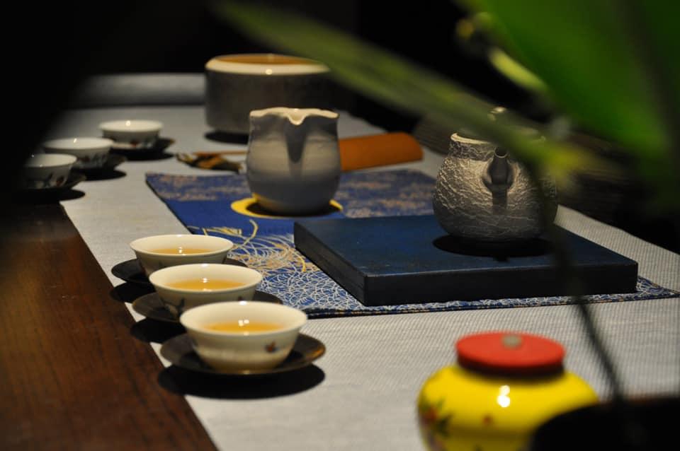 中秋瀹茶,闔家平安